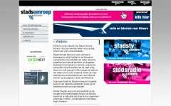 startpagina van de StadsOmroep Almere